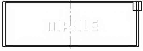 Шатунный подшипник MAHLE ORIGINAL 029 PS 10722 025 - изображение