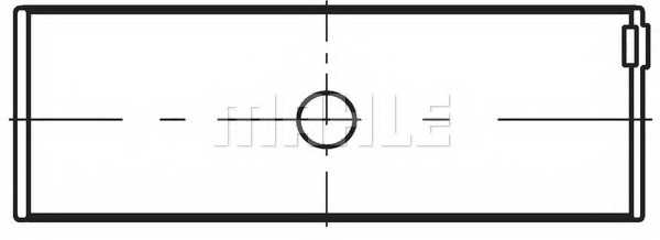 Шатунный подшипник MAHLE ORIGINAL 029 PS 18723 000 - изображение