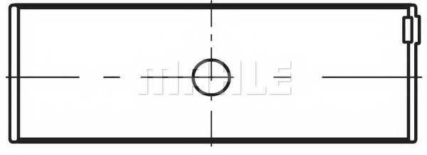 Шатунный подшипник MAHLE ORIGINAL 029 PS 19904 000 - изображение