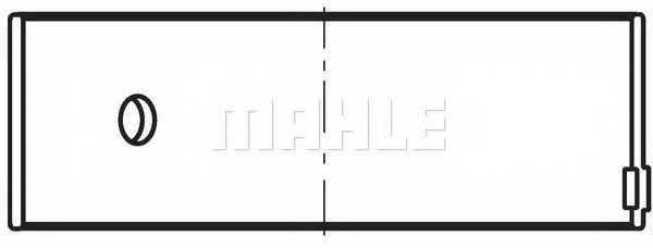 Шатунный подшипник MAHLE ORIGINAL 037 PS 10588 000 - изображение