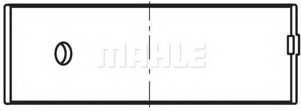 Шатунный подшипник MAHLE ORIGINAL 038 PL 19914 000 - изображение