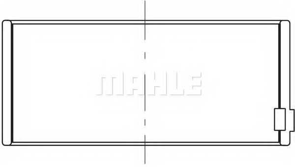 Шатунный подшипник MAHLE ORIGINAL 209 PL 20646 000 - изображение 1