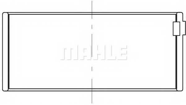 Шатунный подшипник MAHLE ORIGINAL 209 PL 20646 000 - изображение