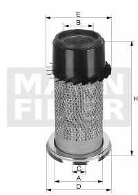 Фильтр воздушный MANN-FILTER C 16 340 - изображение