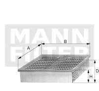 Фильтр воздушный MANN-FILTER C 25 008/1 - изображение