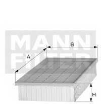 Фильтр воздушный MANN-FILTER C 32 013 - изображение