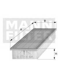 Фильтр салонный MANN-FILTER C 48 140 - изображение