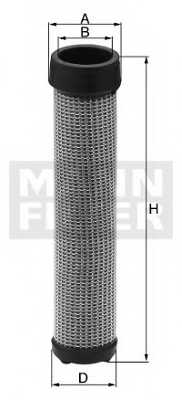 Фильтр добавочного воздуха MANN-FILTER CF 18 211 - изображение