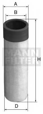 Фильтр добавочного воздуха MANN-FILTER CF 50 - изображение