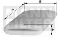 Фильтр системы вентиляции картера MANN-FILTER CS 51 - изображение
