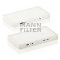 Фильтр салонный MANN-FILTER CU 1811-2 - изображение
