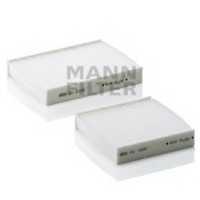 Фильтр салонный MANN-FILTER CU 21 000-2 - изображение
