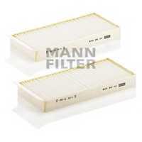 Фильтр салонный MANN-FILTER CU 22 009-2 - изображение
