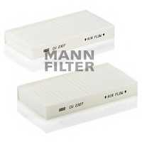 Фильтр салонный MANN-FILTER CU 2327-2 - изображение