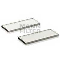 Фильтр салонный MANN-FILTER CU 2506-2 - изображение