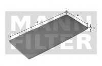Фильтр салонный MANN-FILTER CU 2603 (10) - изображение