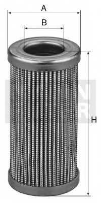 Фильтр гидравлической системы привода MANN-FILTER HD 929/5 - изображение