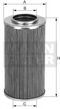 Фильтр гидравлической системы привода MANN-FILTER HD 946/2 - изображение