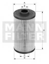 Фильтр масляный MANN-FILTER HU1291/1z - изображение