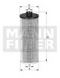 Фильтр масляный MANN-FILTER HU 6009 z - изображение