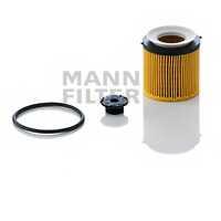 Фильтр масляный MANN-FILTER HU 8002 x KIT - изображение