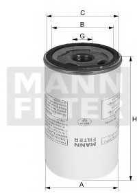 Фильтр, пневмооборудование MANN-FILTER LB 1374/2 - изображение