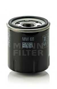 Фильтр масляный MANN-FILTER MW 68 - изображение