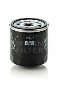 Фильтр масляный MANN-FILTER MW 712 - изображение