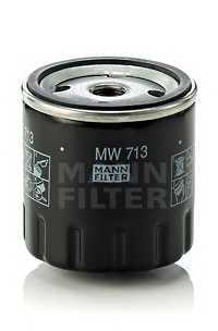 Фильтр масляный MANN-FILTER MW713 - изображение