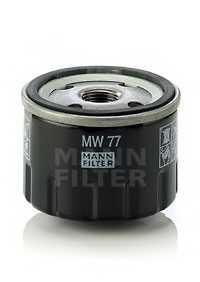 Фильтр масляный MANN-FILTER MW 77 - изображение