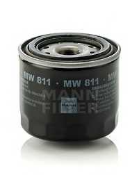 Фильтр масляный MANN-FILTER MW 811 - изображение
