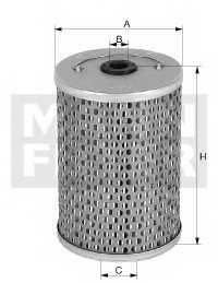Фильтр топливный MANN-FILTER P 1018/1 - изображение