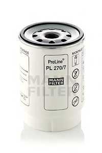 Фильтр топливный MANN-FILTER PL 270/7 x - изображение