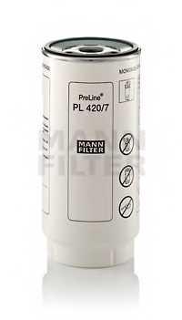 Фильтр топливный MANN-FILTER PL 420/7 x - изображение