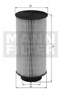 Фильтр топливный MANN-FILTER PU 10 004 z - изображение