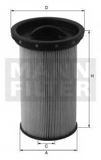 Фильтр топливный MANN-FILTER PU7006 - изображение