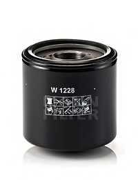 Фильтр масляный MANN-FILTER W 1228 - изображение