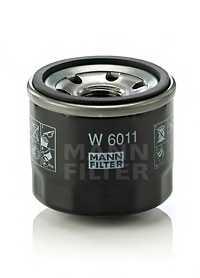 Фильтр масляный MANN-FILTER W 6011 - изображение