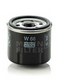 Фильтр масляный MANN-FILTER W 66 - изображение