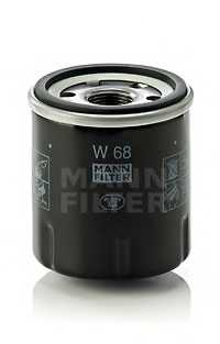Фильтр масляный MANN-FILTER W 68 - изображение