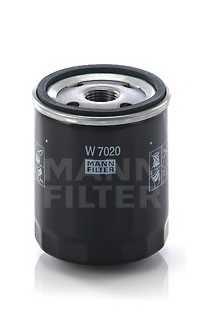 Фильтр масляный MANN-FILTER W 7020 - изображение