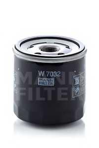 Фильтр масляный MANN-FILTER W 7032 - изображение