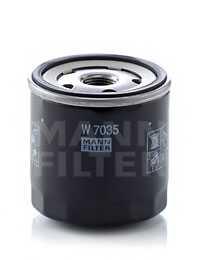 Фильтр масляный MANN-FILTER W7035 - изображение