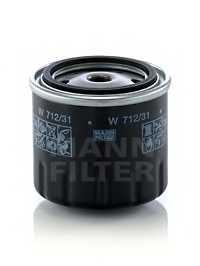 Фильтр масляный MANN-FILTER W 712/31 - изображение