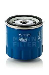 Фильтр масляный MANN-FILTER W 712/9 - изображение