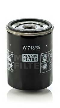 Фильтр масляный MANN-FILTER W 713/35 - изображение