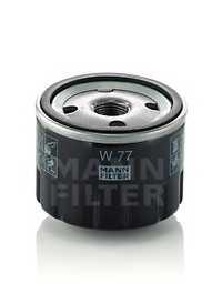Фильтр масляный MANN-FILTER W 77 - изображение