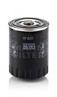 Фильтр масляный MANN-FILTER W 820 - изображение