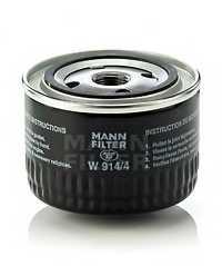 Фильтр масляный MANN-FILTER W 914/4 - изображение