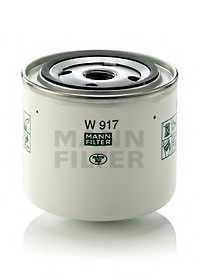 Фильтр масляный MANN-FILTER W 917 - изображение